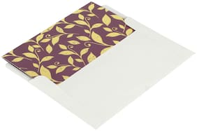 Shantam Thank You Fancy Mini Cards (Pack of 20) ORCHID