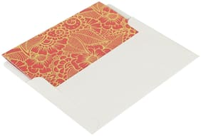 Shantam Thank You Fancy Mini Cards (Pack of 20) CORAL