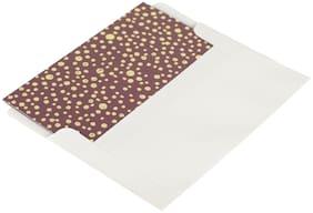 Shantam Thank You Fancy Mini Cards (Pack of 20) CARMINE