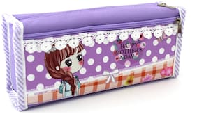 SHERAGO Pen/Pencil Box for Girls & Boys || Best Suitable for School Kids;Travelers and Students || Multipurpose Box/Case