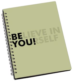 Shopmantra Believe In Yourself Notebook