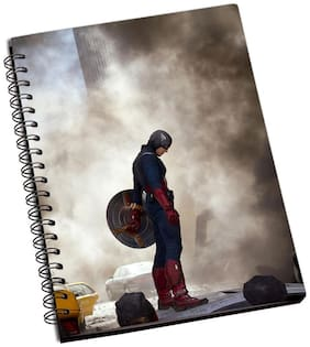 Shopmantra Captain America Avengers Notebook
