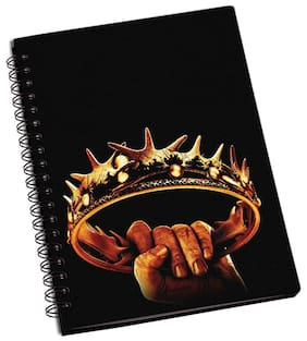 Shopmantra Game Of Thrones Crown Notebook