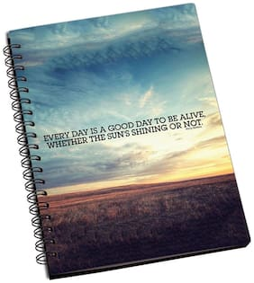Shopmantra Good Day To Alive Notebook