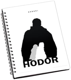Shopmantra Hodor Game Of Thrones Notebook