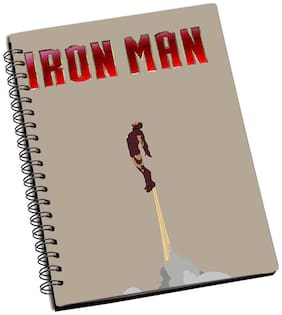 Shopmantra Ironman Minimal Flying Notebook