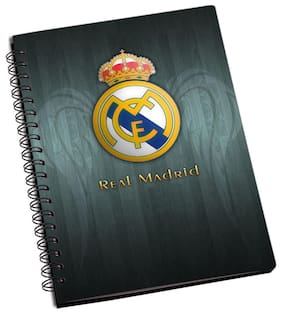 Shopmantra Real Madrid Logo Notebook