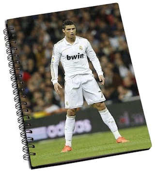 Shopmantra Ronaldo Portugal National Football Team Notebook