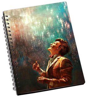 Shopmantra Sherlock Homles Art Painting Notebook