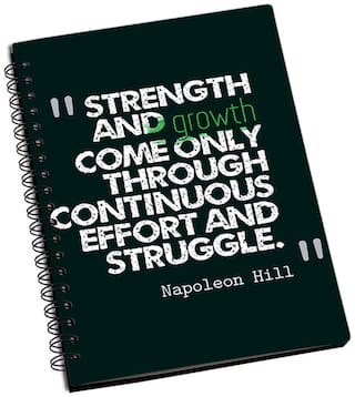 Shopmantra Strength And Growth Notebook