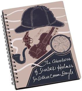 Shopmantra Sherlock Holmes Adventure Notebook