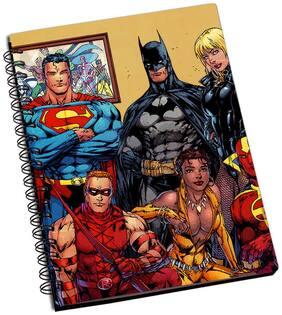 Shopmantra Superhero Family Notebook