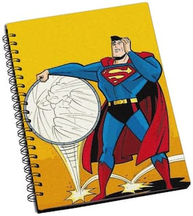 Shopmantra Superman Sarcasm Notebook