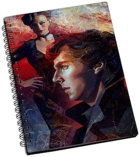 Shopmantra Sherlock Holmes Polygon Painting Notebook