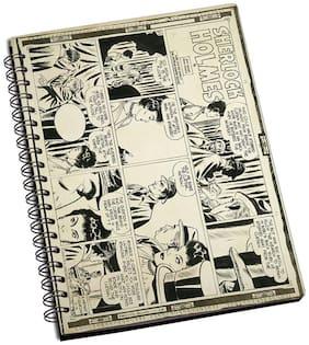 Shopmantra Sherlock Holmes Comic Strip Notebook