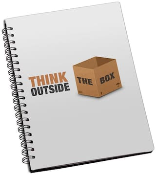 Shopmantra Think Outside Of The Box Notebook