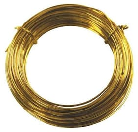SIJCM Sparkle Jewellery Making BRASS WIRE 20GUAGE0.81MM250-001