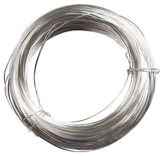 SIJCM Sparkle Silver Plated wire 18 gauge1.02MM-001
