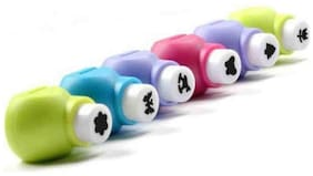 Small Size Craft Punches Machine for Art and Craft Project (Pack of 6)