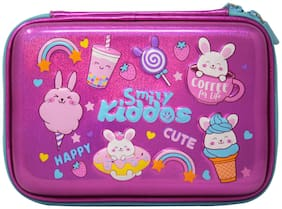 Smily Kiddos Smily sparkle pencil case - Buny theme -Pink