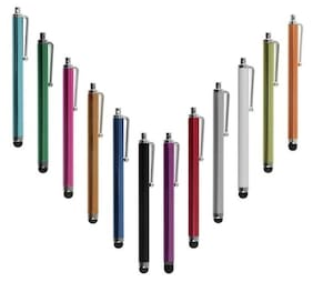 Snowpearl Universal Touch Pen for Android Mobile Phones and Tablets & For All iPads, 03 Piece, Assorted Color