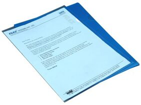 Solo Blue Clear Holder - Set Of 30