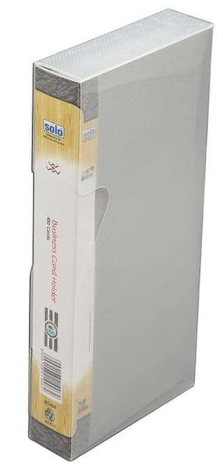 Solo Business Card Holder - 1 X 480 Card In A Case - Bc 808 (Pack of 2)
