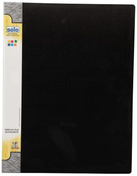 Solo Display File (Set Of 1- Black)