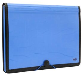Solo Document Bag - Blue (Set Of 1)