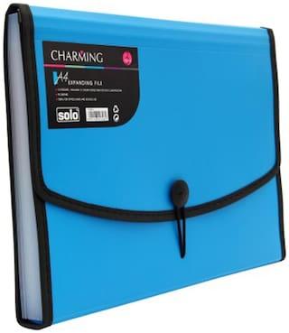 Solo Expanding File (Set Of 1- Blue)