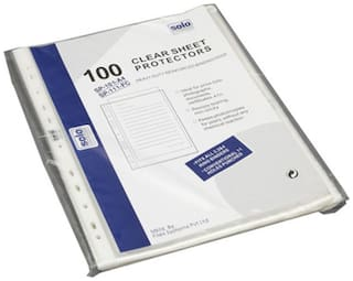 Solo Sheet Protector (Set Of 100)