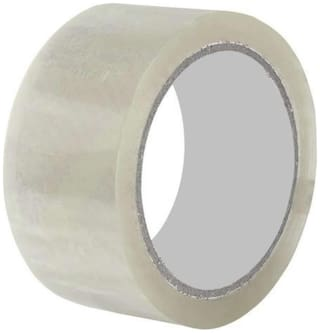 Solofix Transparent Packaging tape (Pack of 12) 5.08 cm (2 inch)x65 m