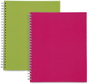 "Sparco Proffssinal Book TW A4 7""x9"" Plain RL 2/PK Multi 17710"