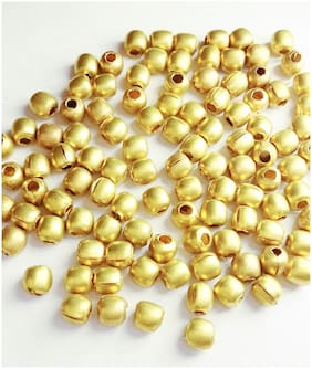 Sparkle Findings for jewelry making Metal Ball Brass;Size 6mm;Pack of 200 Pc