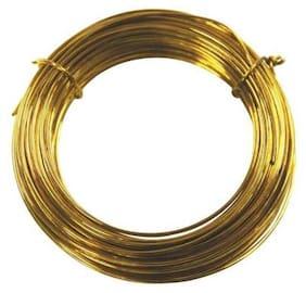 Sparkle Jewellery Making BRASS WIRE 20GUAGE0.81MM250-001