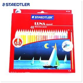 Staedtler 137 C 48 Abs Luna Water Colour Pencil , 48 pcs Pack (137 C 48 ABS)