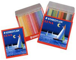 Staedtler 137 C 24 Abs Luna Water Colour Pencil (Pack Of 24)