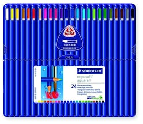 Staedtler Ergosoft Aquarell 156 Sb24 Triangular Watercolour Pencil