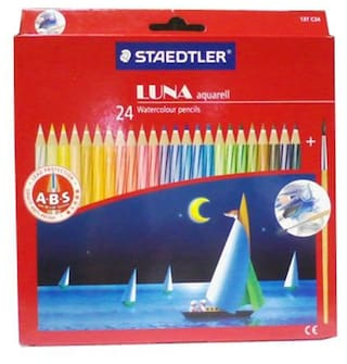 Staedtler Luna Aquarell Abs Water Color Pencils (Pack Of 24)