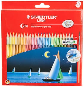 Staedtler Luna School Water Color Pencil (Pack Of 24)