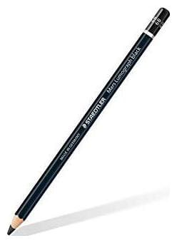 STAEDTLER MARS LUMOGRAPH BLACK ARTISTS PENCIL 6B (PACK OF 12)