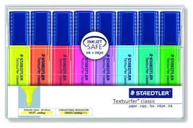 Staedtler Textsurfer Classic Highlighter Pens (Pack Of 8)