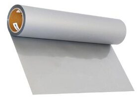 Stahls Basic Plus Cad-Cut Heat Transfer Films Vinyl - Silver Color
