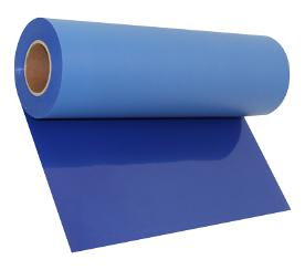 Stahls Flock Heat Transfer Films Vinyl - Royal Blue Color