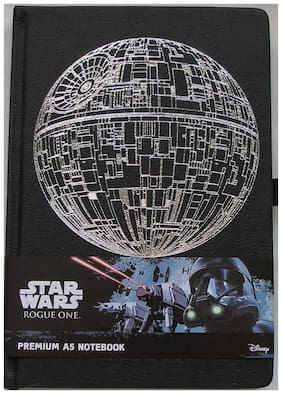 Star Wars Rogue One Death Star Hardcover Journal Notebook A5 Licensed Disney