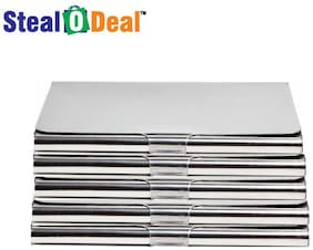 Stealodeal 5pc Stainless Steel Card Holder