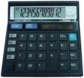 Stealodeal CT-512 12 Digit Basic Calculator (12 Digits)