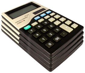 Stealodeal CT-312 |Pack of 4| 12 Digit Basic Calculator