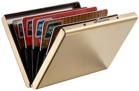 Stealodeal Gold Limited Edition Metal Atm Card Holder