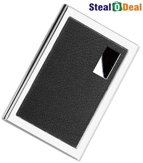 Stealodeal High Quality One Sided Leather Card Holder